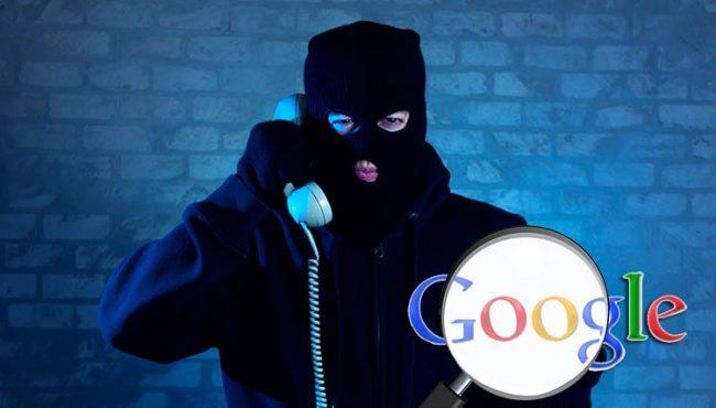 google-telefon-dolandiriciligi